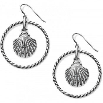 Brighton Sea Shore Shell French Wire Earrings