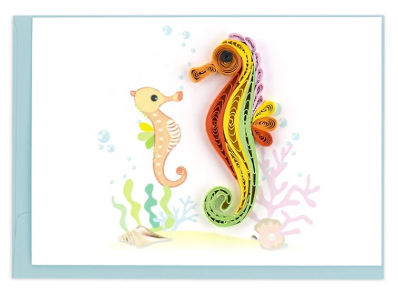 Seahorse Quill Gift Enclosure