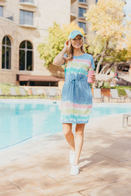 Coastal TieDye | SS Dress