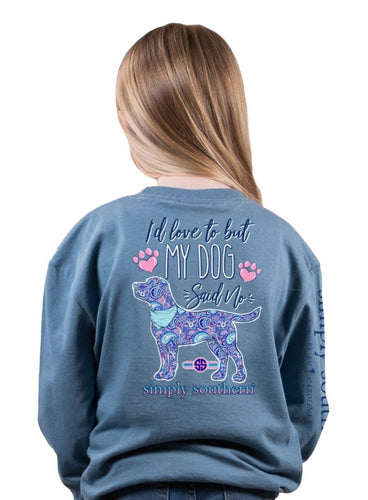 YOUTH SS Long Sleeve - 'I'd love to but...'