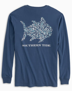 Fish Snowflake Long Sleeve T-Shirt
