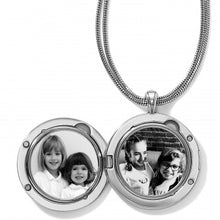 Brighton Toledo Alto Noir Convertible Locket Necklace