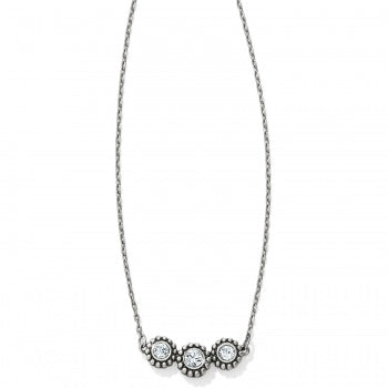 Brighton Twinkle Triple Stone Necklace