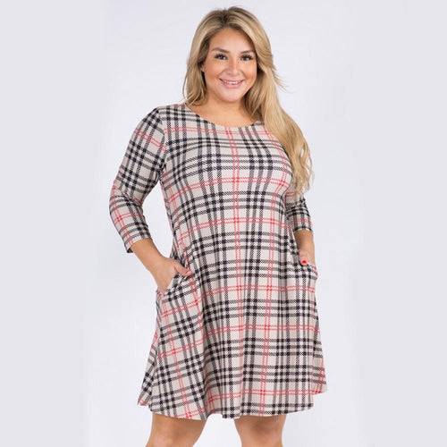 RBW Plaid Tunic