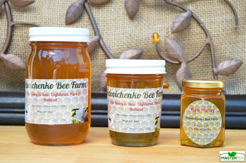 Raw Spring Blossom Honey - Vdovichenko Bee Farm