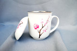 Mug Cherry Blossom with Filter & Lid, 350 ml