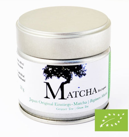 Japan Original Matcha For Beginners Organic, 30 g in tin