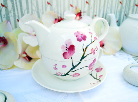 Tea For One Cherry Blossom