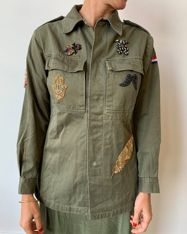 Military Jacket with Wings