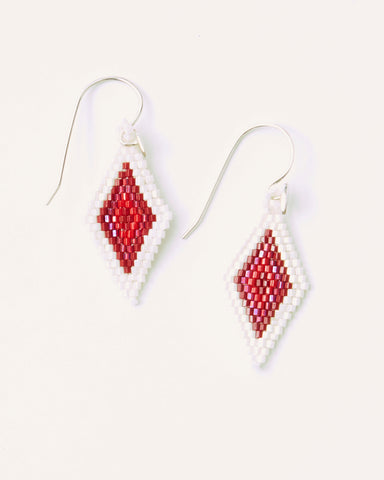 Huichol Love Ojo Small Earrings