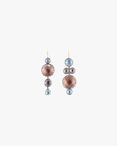 Sadie Mis-Matched Bubble Earrings