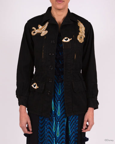 Disney x Figue Military Jacket with Feather and Lamp