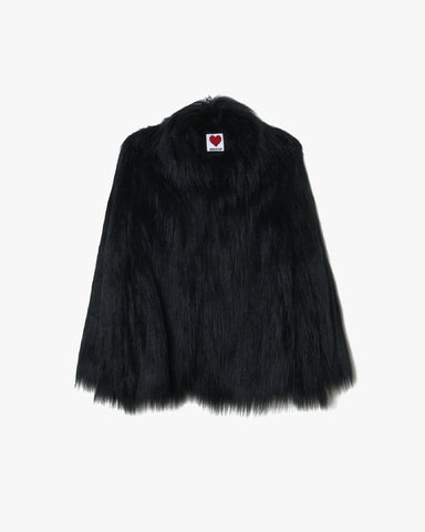 House of Fluff Convertible Cape Coat