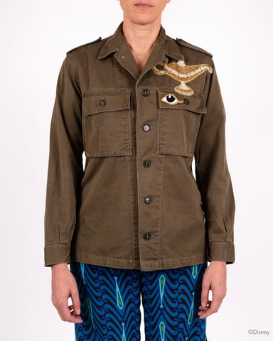Disney x Figue Military Jacket With Lion And Lamp
