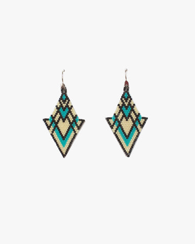 Huichol Love Caza Earrings