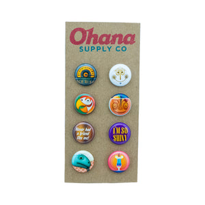 """Our Favorite 30th Birthday"" Button Pack"