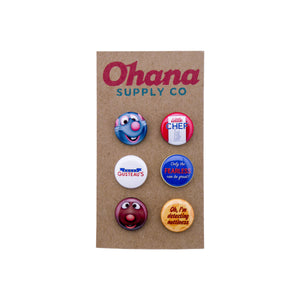 """Our Favorite Little Chef"" Button Pack"