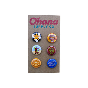 """Our Favorite Sheriff"" Button Pack"