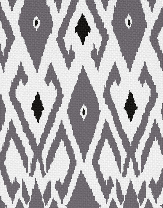 Modern Limited Edition Isla Ikat Curtain Panel