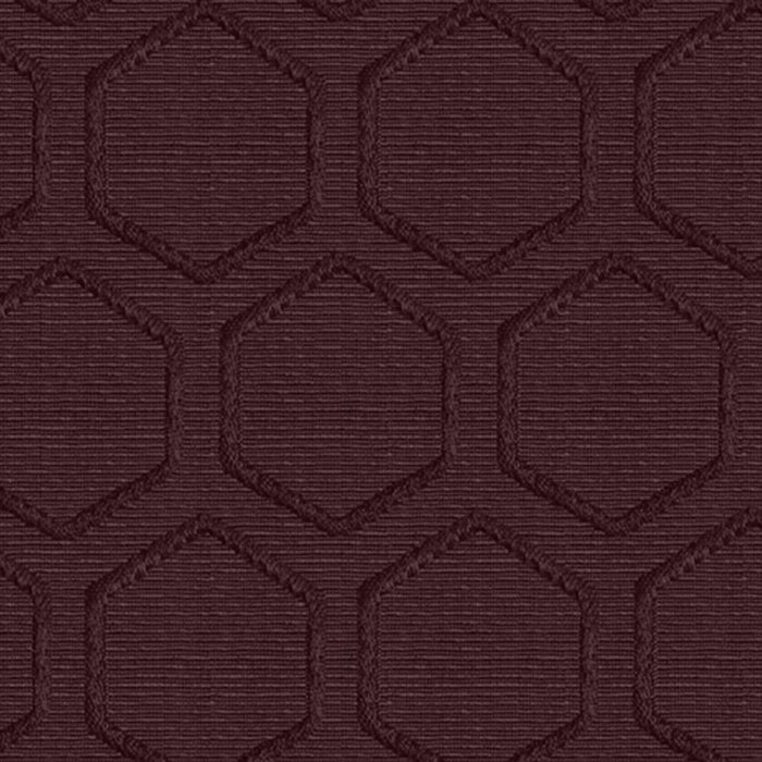 Hollie Cotton Hexagonal Heavyweight Raised Woven Matelassé Curtain Panel