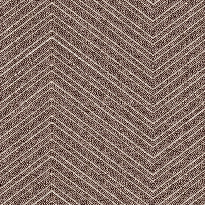 Pair Pallas Chevron Two Tone Cotton Blend Curtain Panels with FREE Curtain Rod