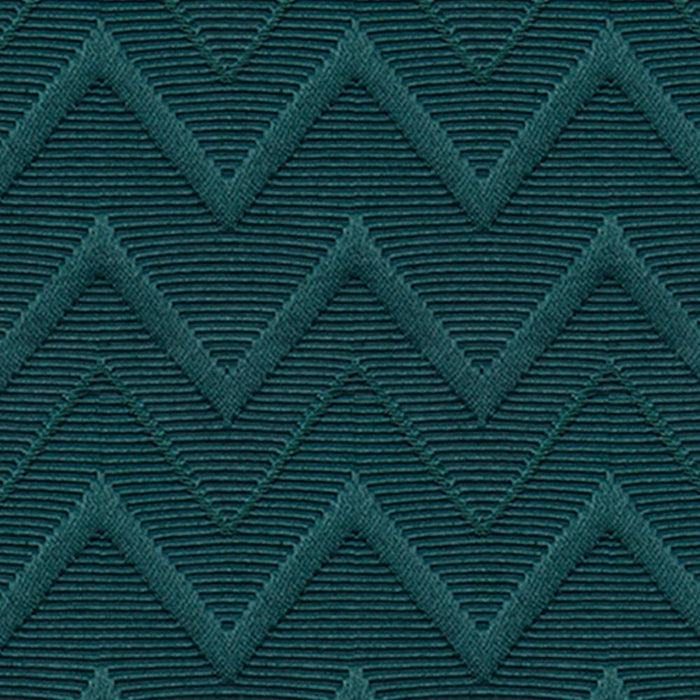 Cheval Cotton Chevron Heavyweight Raised Woven Matelassé Curtain Panel