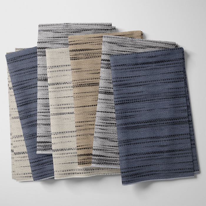 Nolan Striped Textured Print Fabric