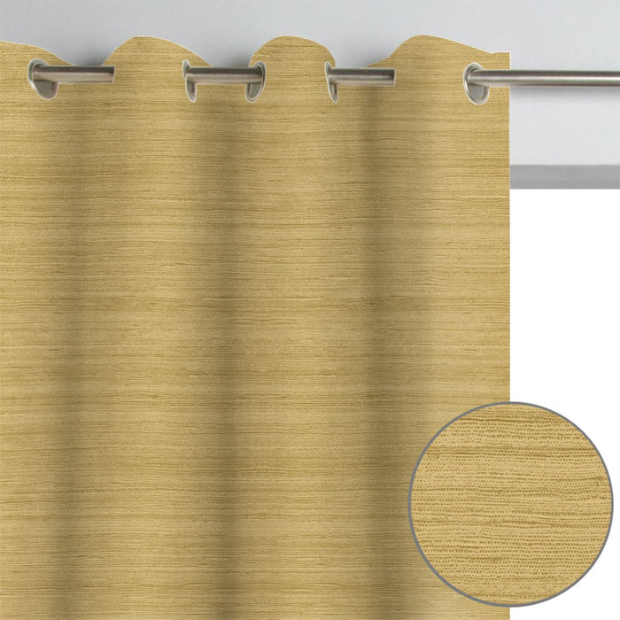 2 Pack, Newest Gold Light Filtering Curtains (Blackout available)