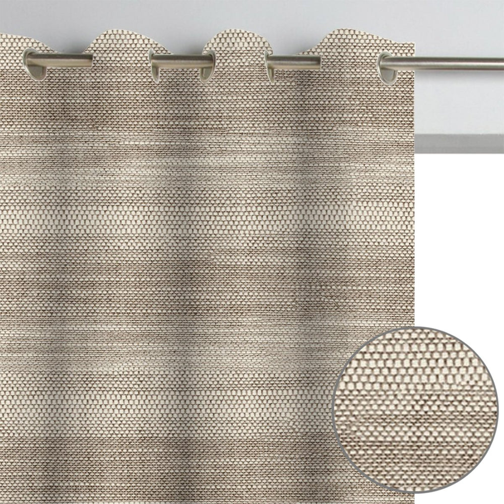 2 Pack, Newest Brown Light Filtering Curtains (Blackout available)