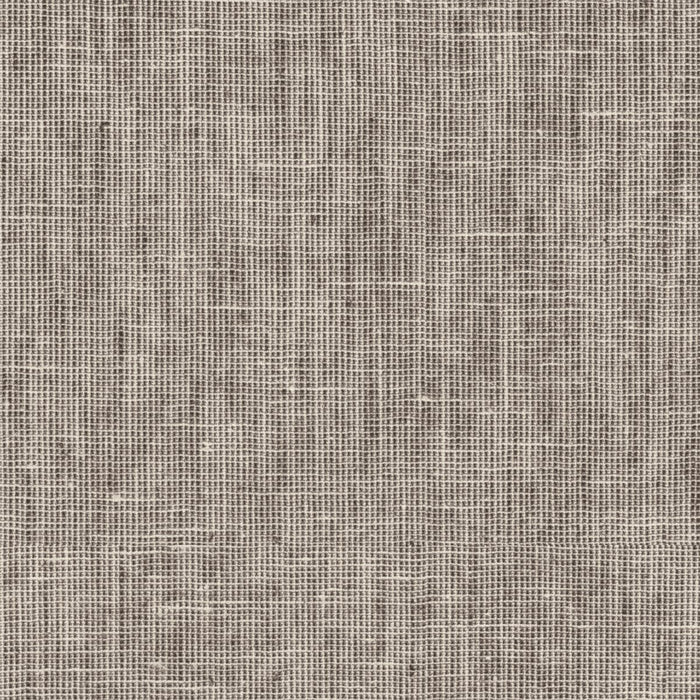 Mocha Brown Textured Linen