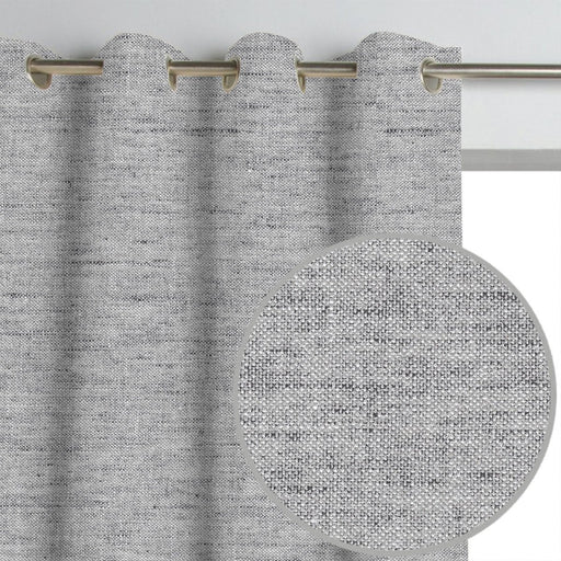 Grayson Linen Textured Curtain Panel