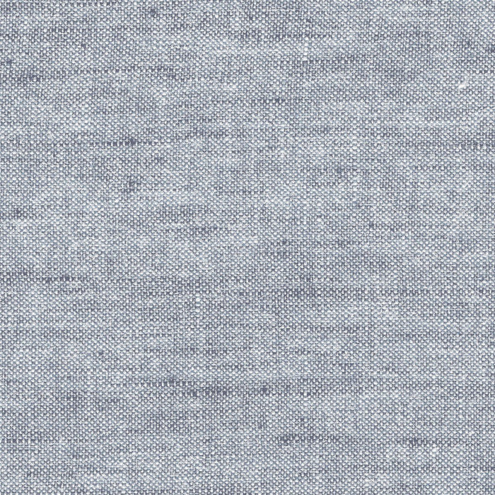 Slate Blue/Light Blue Textured Linen