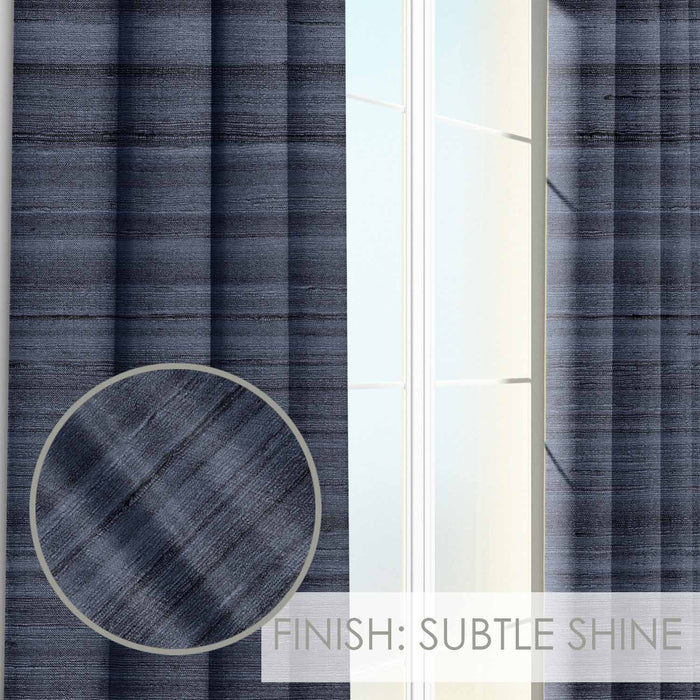 Fabio Matte Texture and Subtle Shine Curtain Panel