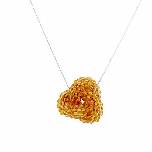 Citrine Love Knot - Therese Custom Designs