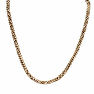 14kt Gold Rope Necklace - Therese Custom Designs