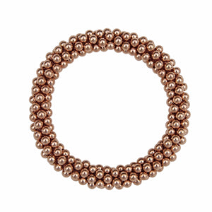 14kt Rose Gold Rope Bracelet - Therese Custom Designs