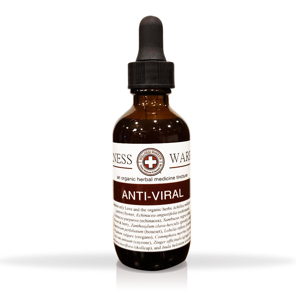 Anti-Viral Herbal Tincture - First Aid for Viruses