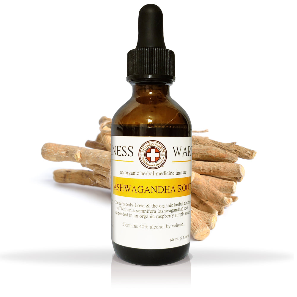 Ashwagandha Root Herbal Tincture - First Aid for Stress