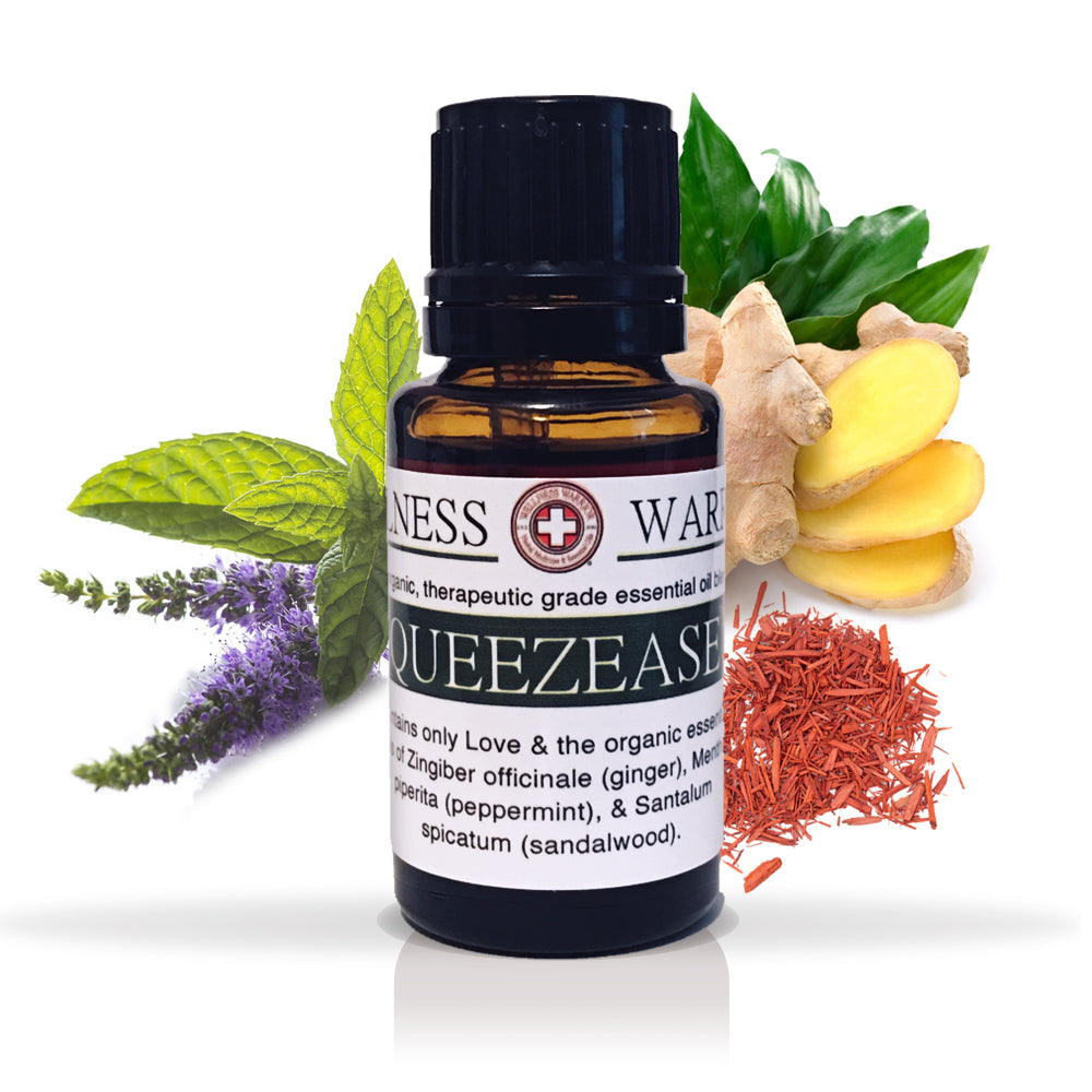 QueezEase Nausea Relief - Because Vomiting is Horrible, Especially in Public