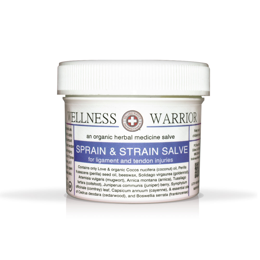 Sprain & Strain Salve - First Aid for Tendon & Ligament Injuries