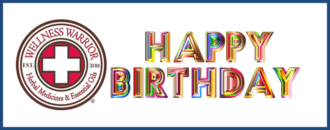 Wellness Warrior Happy Birthday Gift Card