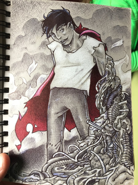 Sketch Book Diaries/ Tetsuo