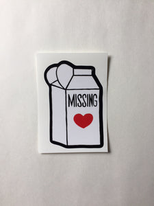 Where's The Love? Vinyl Sticker