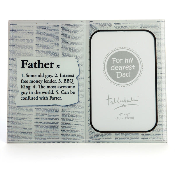Father Photo Frame.