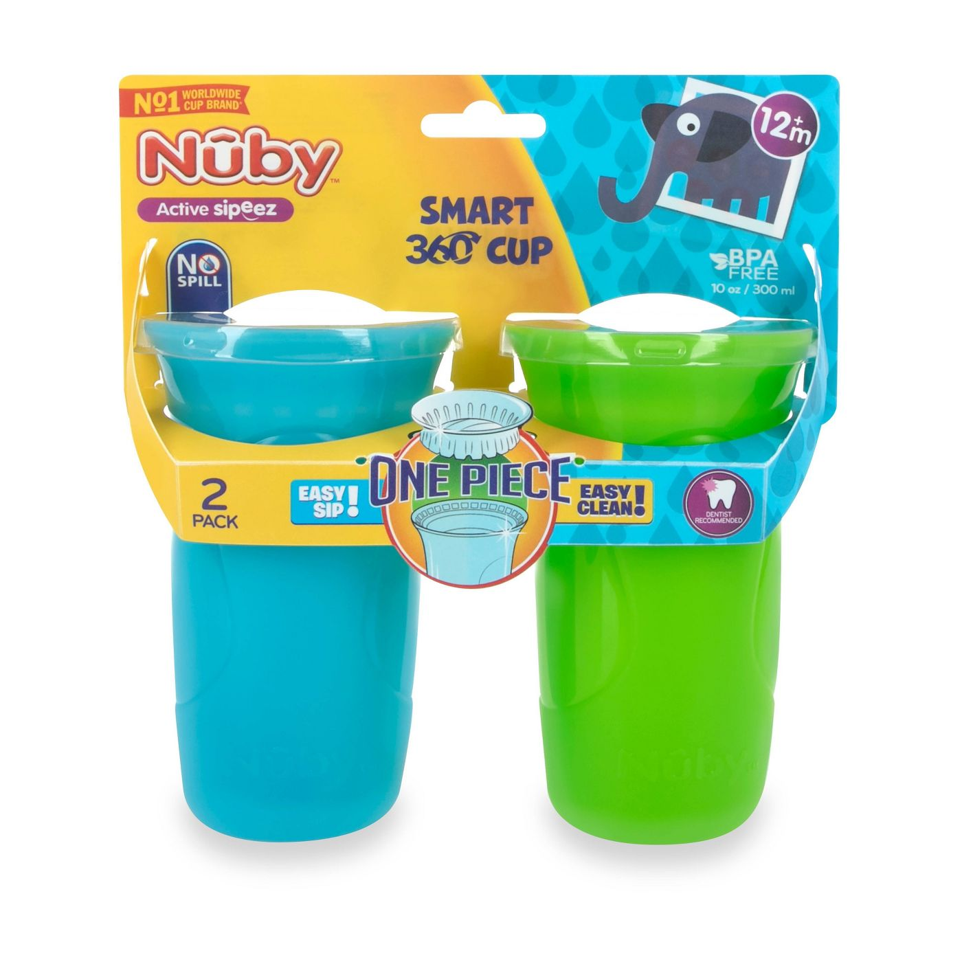 Nuby 360 Edge Cup is a new favorite in our house!