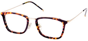 Tortoise Ideal Eyeglasses Men Side - Leone Eyewear