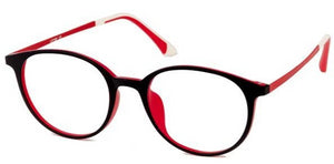 Pure Black Eyeglasses Side - Leone Eyewear