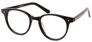 Black Ana Eyeglasses Women Side - Leone Eyewear