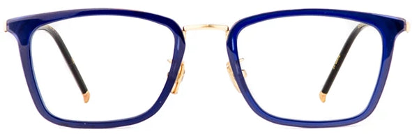 Dark Blue Ideal Eyeglasses Men Front - Leone Eyewear