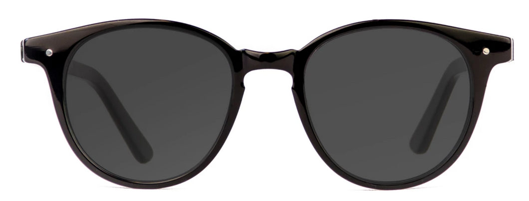 Ana Women Sunglasses Black Front - Leone Eyewear